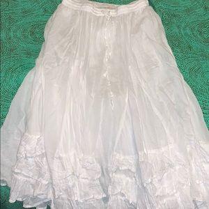 Dresses & Skirts - Long white skirt
